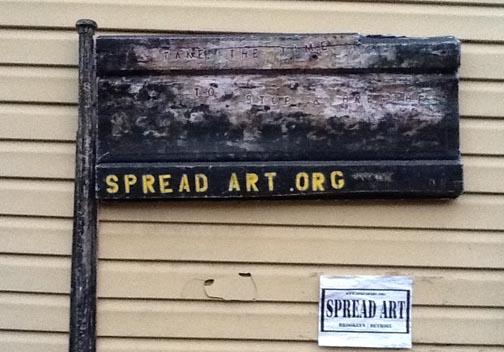 Spread Art flag